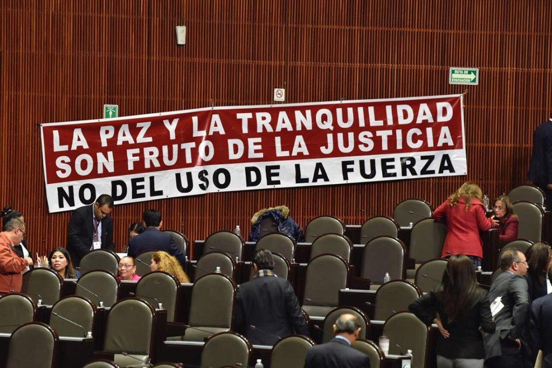 Ley de Seguridad Interior, amenaza para los Derechos Humanos.