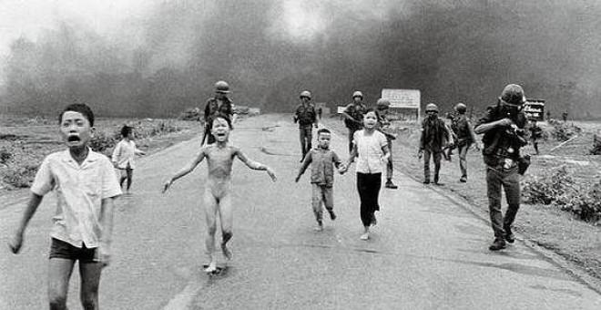 Fotografía como instrumento político en guerra