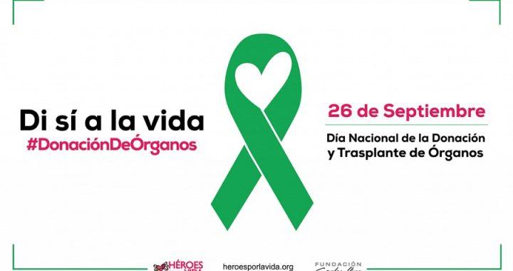 DÍA NACIONAL DE LA DONACIÓN Y TRASPLANTE DE ÓRGANOS Y TEJIDOS